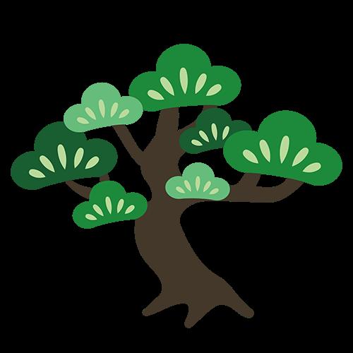 市の木 松