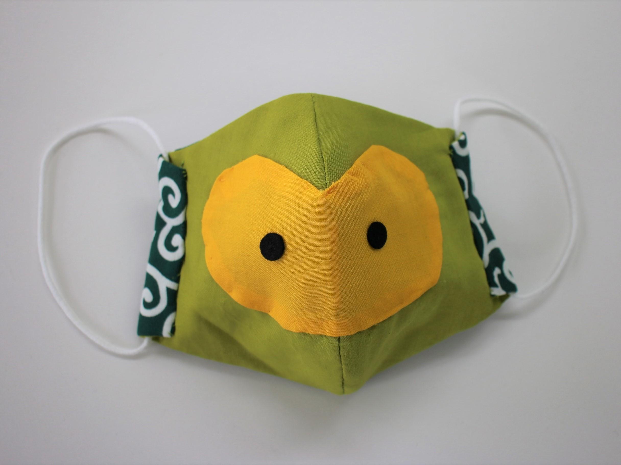 楽しく感染症予防!「まいりゅうマスク」の作り方・型紙を公開